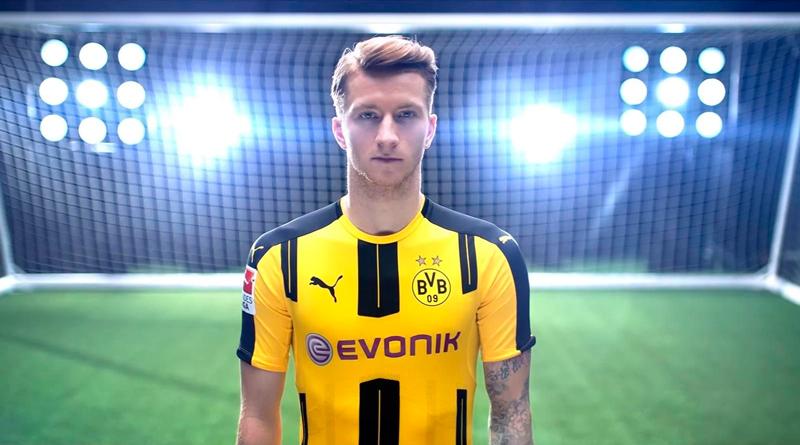 Новое лицо серии игр FIFA - Марко Ройс.