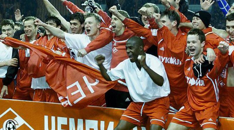 """ФК """"Спартак"""" - чемпион России 2001 года"""