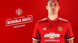 Матич в Манчестер Юнайтед