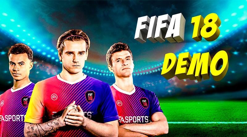 Демо версия FIFA 18