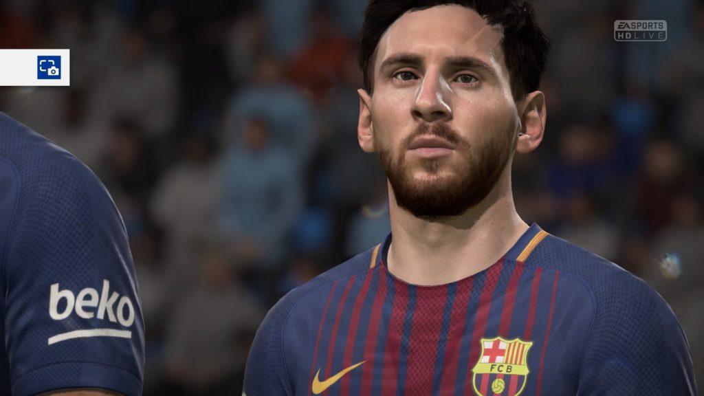 Лионель Месси в FIFA 18
