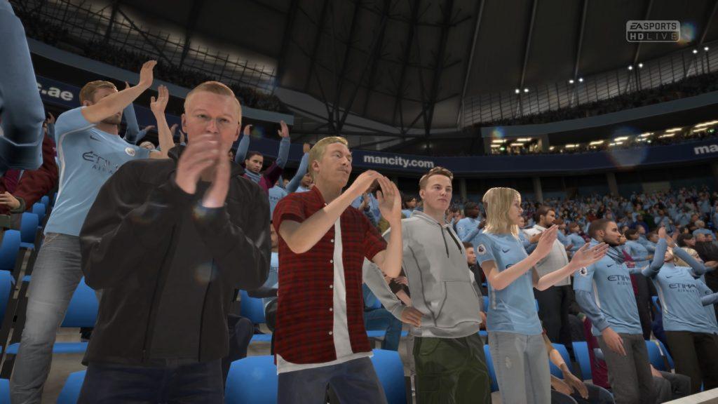Болельщики в FIFA 18