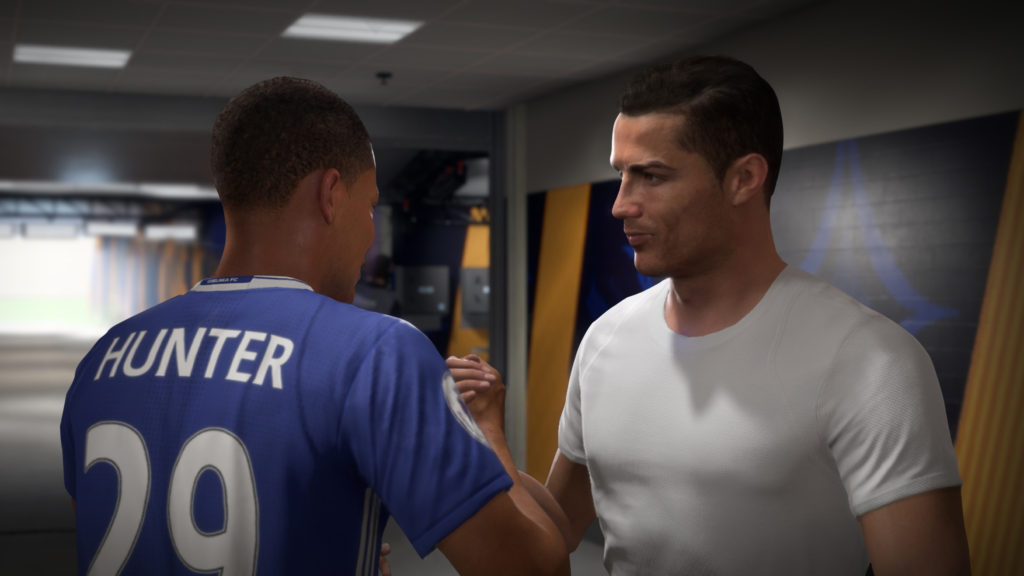 Алекс Хантер в FIFA 18