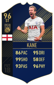 Гарри Кейн, Команда года в FIFA 18
