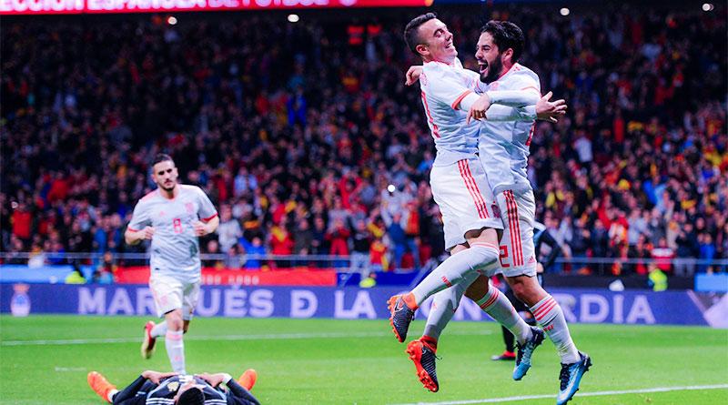 Испания громит Аргентину в Мадриде