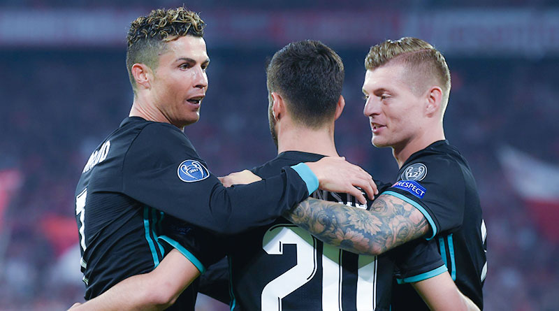 Бавария - Реал ЛЧ 2017/2018