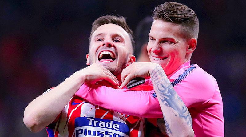 Атлетико и Марсель выходят в финал Лиги Европы