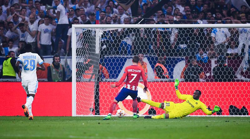 Гризманн в финале Лиги Европы