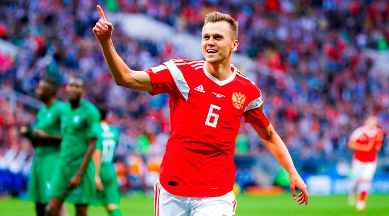 Денис Черышев стал героем стартового матча ЧМ-2018 с Саудовской Аравией
