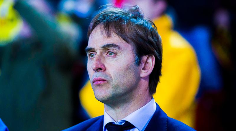 Хулен Лопетеги - новый главный тренер Реала