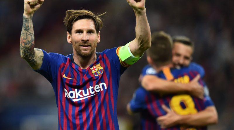 Барселона обыгрывает Тоттенхэм в Лондоне