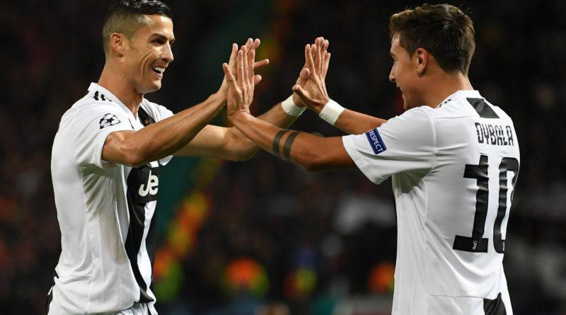 Ювентус переигрывает Манчестер Юнайтед на Олд Траффорд благодаря голу Дибалы