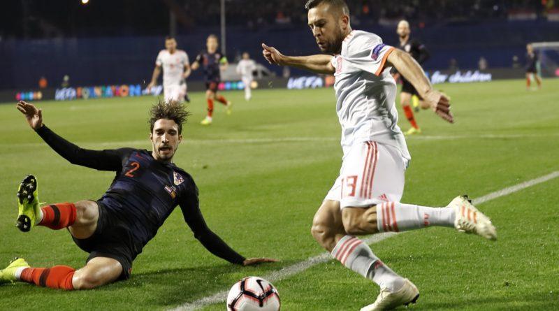 Сборная Хорватии выигрывает у Испании в Лиге Наций со счетом 3:2