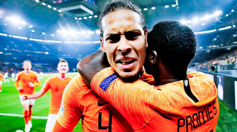 Сборная Голландии вырывает ничью с Германией и занимает первое место в группе