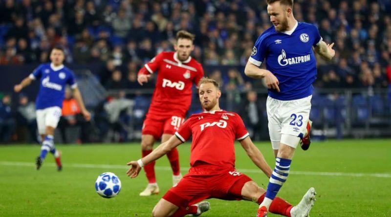 Локомотив вылетел из Лиги чемпионов, проиграв Шальке в гостях