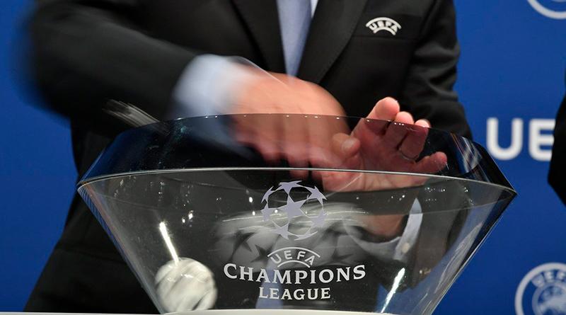 Состоялась жеребьевка 18/ финала Лиги чемпионов