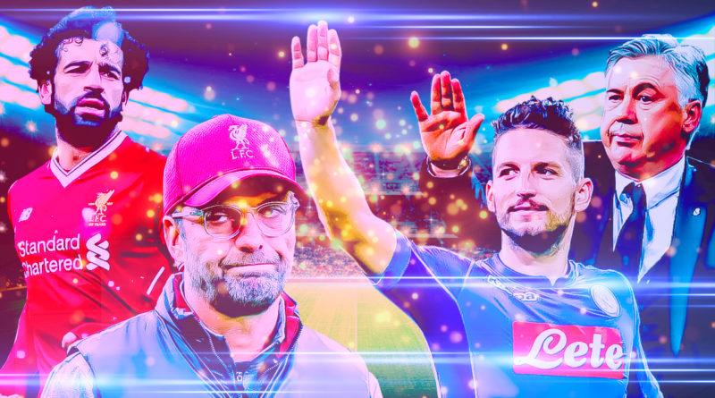 Ливерпуль - Наполи. Лига чемпионов в FIFA 19