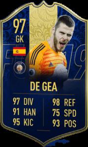 TOTY-карточка Давида Де Хеа в FIFA 19