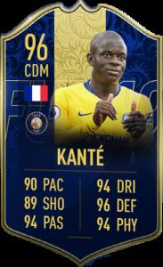 TOTY-карточка Нголо Канте в FIFA 19