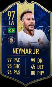 TOTY-карточка Неймара в FIFA 19