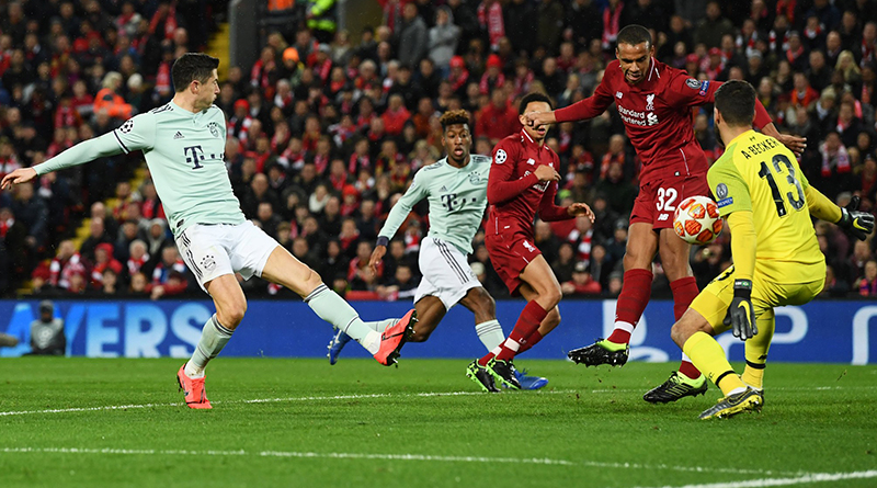 Алисон спасает команду от автогола Матипа в матче Ливерпуль - Бавария