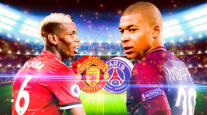 Манчестер Юнайтед - ПСЖ в Лиге чемпионов 2019
