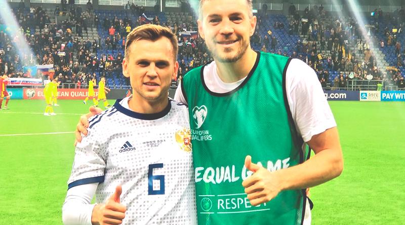 Обзор матча Казахстан - Россия 0:4
