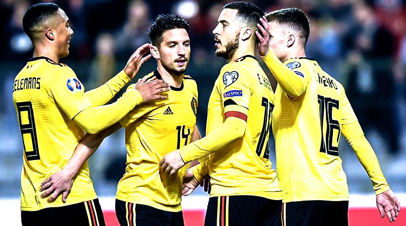 Обзор матча Бельгия - Россия, Евро-2020