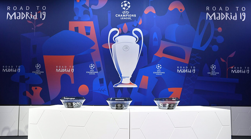 В Ньоне состоялась жеребьевка 1/4 финала Лиги чемпионов и Лиги Европы 2019