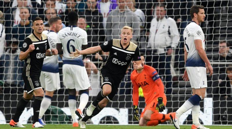 Обзор матча тоттенхэм - Аякс 0:1 в полуфинале Лиги чемпионов