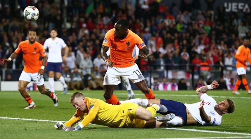 Обзор полуфинального матча Лиги Наций Нидерланды - Англия 3:1