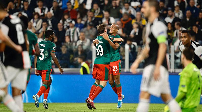 Обзор матча Ювентус - Локомотив 2:1 в Лиге чемпионов