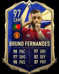 Бруно Фернандеш 97 TOTY FIFA 21