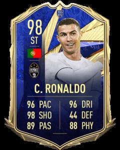 Криштиану Роналду 98 TOTY FIFA 21