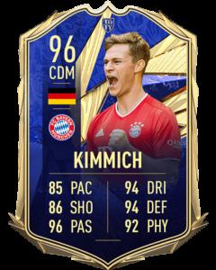 Йосуа Киммих 96 TOTY FIFA 21